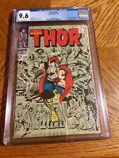 CPR Press Thor #154 CGC 9.6 Stan Lee Jack Kirby Silver Age Marvel Comics Book