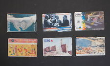 ISRAEL Dial-up Telephone Phone Tele Card – Lot of 6