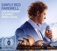 "SIMPLY RED ""FAREWELL - LIVE AT SYDNEY OPERA"" CD+DVD NEU"
