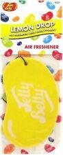 2D Jelly Belly Bean Car Air Freshner Lemon Drop Scent Flavour Smell
