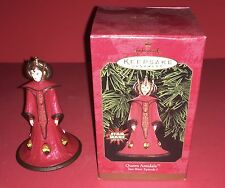 1999 Queen Amidala Star Wars Episode 1 Hallmark Keepsake Christmas Ornament New