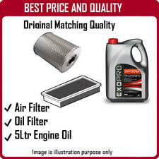 3936 AIR + OIL FILTERS AND 5L ENGINE OIL FOR CITROEN DS3 1.4 2010-