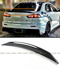 For 2008-17 Mitsubishi Lancer Evo X 10 Duckbill Highkick Gloss Blk Trunk Spoiler