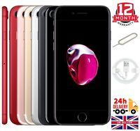 Apple iPhone 7 32GB 128GB 256GB Unlocked Refurbished Smartphone All Colour Grade