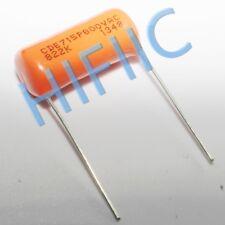 2PCS Sprague Orange Drop capacitor CDE 715P 822K 8200PF 0.0082UF 800VAC 2000V