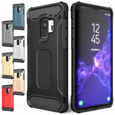For Samsung Galaxy S7 S8 S9 Plus Shockproof Hybrid Armour Shock Proof Case Cover