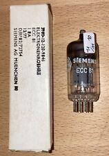 Ecc81-Siemens (12at7/cv455) - military Grade-nos/NIB (r276)