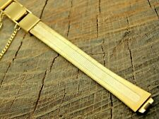 Seiko Vintage NOS Unused Base Metal Butterfly Clasp Watch Band 9mm Bracelet