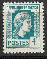 FRANCE TIMBRE  N° 643 ** SERIE D ALGER MARIANNE