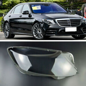 For Mercedes-Benz S-Class S320 S400 S500 S600 14-17 Clear Headlamp Cover Right