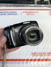 Canon Powershot SX120 IS Digital Camera Nice Shape Works