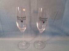 "Set 2 ROMANDO FAMILY WINERY wine tasting glasses 9"" MADE IN GERMANY new"