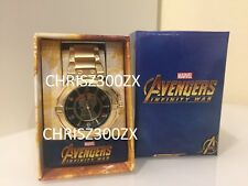 Marvel Avengers Infinity War Infinity Gauntlet Watch Stainless Steel Gold Color