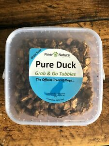 Finer By Nature 100% Natural Pure Duck Training Dog Treats 300g