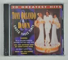 Tony Orlando & Dawn Knock Three Times - 20 Greatest Hits 1999 CD New Sealed