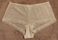 Marks & Spencer Per Una Lingerie knickers Cream size 12 New