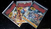 "COMICS   "" JOHN TORNADO ""   Bastei 1980  3 Bände   Z1 Z2"