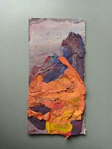 Affordable Art Movement - Acrylic Mixed Media, 2020, On Board