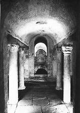 Alte Postkarte - Auxerre - Musée de l'abbaye Saint-Germain - Crypte
