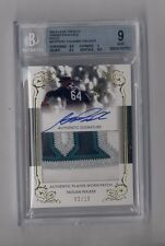TAIJUAN WALKER 2013 LEAF TRINITY GOLD JUMBO LOGO PATCH AUTO RC #2/10 BGS 9 MINT