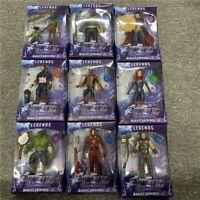 Thanos Black Panther Captain America Thor Iron Man Hulk Avengers Figure Kids Toy