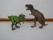 Schleich Dinosaur T-Rex Giganotosaurus Tyrannosaurus Toy Action Figures