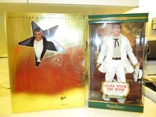 Gone With The Wind Rhett Butler 1994 & 2001 Barbies~New NRFB