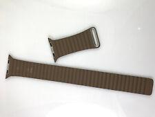 Original OEM Apple Watch Series 4 3 2 1 Leather Loop Band 42mm 44MM Large Brown