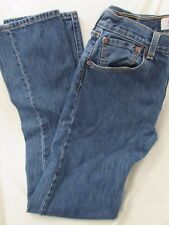 "Mens ""Levi's"" Size W32 X L36, Blue, Classic Straight Leg 501 Jeans w/Button Fly"
