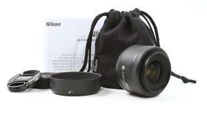 [MINT!] Nikon AF-S DX Nikkor 35mm f/1.8G Lens