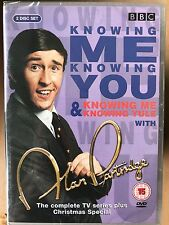 Steve Coogan KNOWING ME KNOWING YOU YULE ~ ALAN PARTRIDGE ~ BBC Comedy UK DVD
