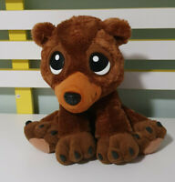 PROTECTED PALS MOOSE PLUSH TOY BROWN BEAR  25CM!