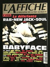 L'AFFICHE n°51s de 1997; Spécial R&B, New Jack, Soul; Babyface, Boyz II Men