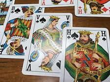 vintage foreign playing cards, dutch cards, Bavaria Bier made in belgium