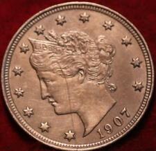1907 Philadelphia Mint Liberty Nickel
