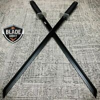 "2 PC Large Dual 26"" Ninja Samurai Twin Tanto Blade Sword Set Machete Katana SET"