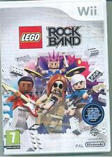 WII - LEGO ROCK BAND - ITA NUOVO