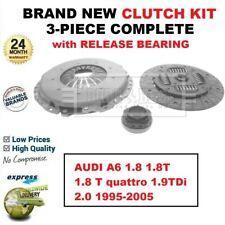 FOR AUDI A6 1.8 1.8T 1.8 T quattro 1.9TDi 2.0 1995-2005 BRAND NEW 3PC CLUTCH KIT