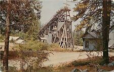 Vintage Postcard; Old Empire Mine, Grass Valley CA Nevada County Unposted