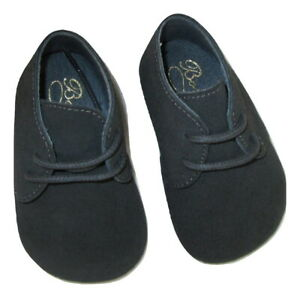 Bonpoint Shoes Moccasin Nursery Baby Toddler Size 1 16 Gray Suede Italy $135