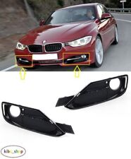 BMW 3 F30/F31 SPORT 2012 - 2016 FRONT BUMPER FOG LIGHT LAMP GRILLES LEFT + RIGHT