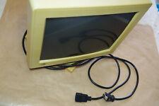 "12.5""  EGA CRT monochrome Monitor PC XT AT 15.7 kHz DB9 9 pin  80s"