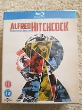 Alfred Hitchcock The Masterpiece Collection 14-Disc Blu-Ray Set, Region Free