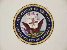 """US NAVY 4"""" x 4"""" Vinyl Decal / Sticker Military USN UNITED STATES NAVY"""