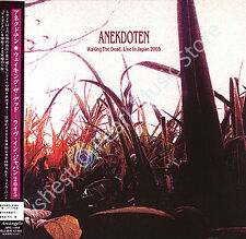 ANEKDOTEN WALKING THE DEAD LIVE IN JAPAN 2005 CD MINI LP OBI progressive rock