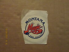 CHL Montana Magic Pro Hockey Vintage Defunct Team Logo Hockey Sticker