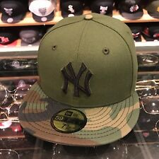 fdead376026 New Era New York Yankees 2017 Memorial Day Fitted Hat GREEN CAMO