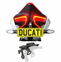 DUCATI 1199 Panigale Tail Tidy Show Plate /Hanger/Bracket Evotech Performance