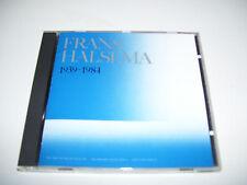 Frans Halsema - 1939 - 1984 RARE CD 1985