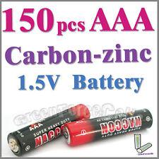 150 piezas AAA zinc-carbono Baterías uso individual R03P 1212 UM4
